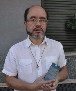 José Manuel Castro Alba, párroco de O Páramo