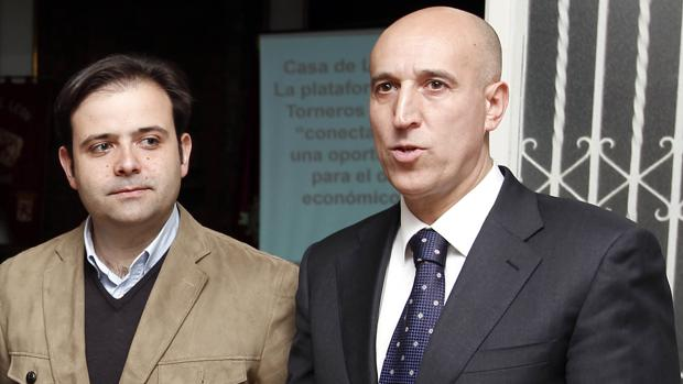 Tino Rodríguez y José Antonio Diez, en una foto de archivo