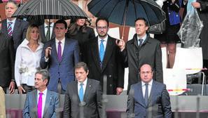 El PSOE lleva su división interna a la recepción en el Palacio Real