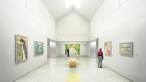 Proyecto de ampliación del museo Sorolla