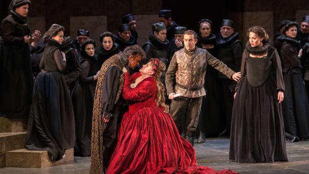 Representación de «Otello», la temporada pasada
