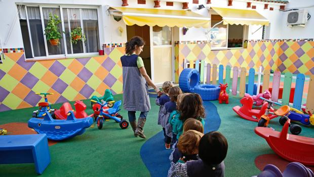 Imagen de archivo de una escuela de Valencia