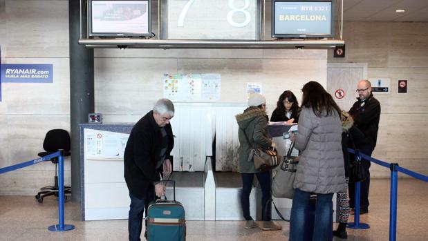 El aeropuerto de Valladolid acumuló una subida del 8,1 por ciento en los primeros nueve meses del año