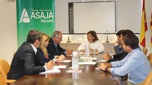ASAJA y el PP pedirán al Gobierno central traer agua que se trasvas a Portugal al Segura