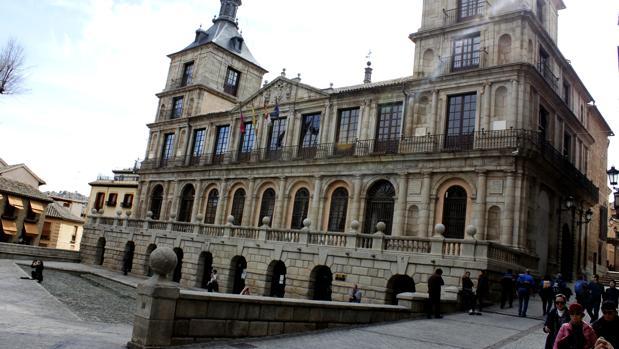 Fachada del Ayuntamiento de Toledo