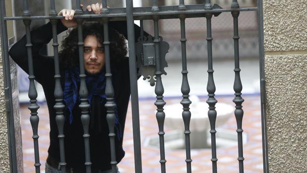Álvaro Pacheco, en el Patio Andaluz de ABC