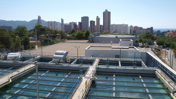 Instalaciones de Hidraqua para la gestión del ciclo del agua en Benidorm