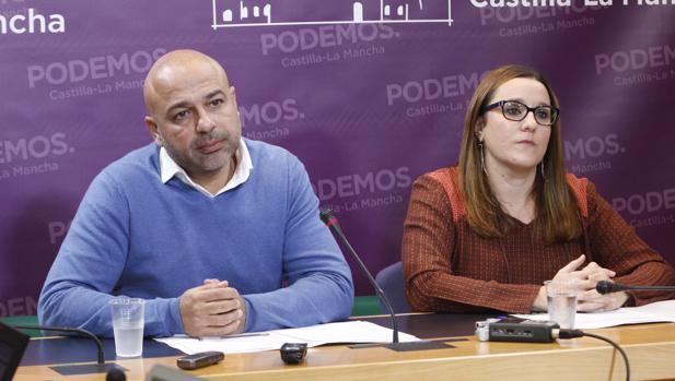 El líder de Podemos en Castilla-La Mancha, José García Molina