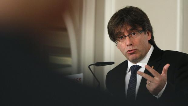 El presidente catalán, Carles Puigdemont