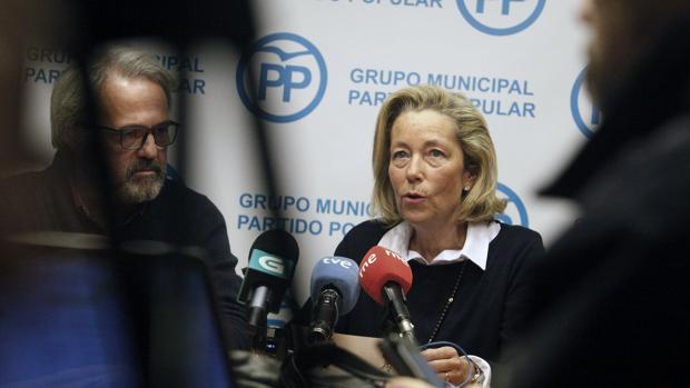 Rosa Gallego, concejal del PP en el Ayuntamoiento de La Coruña