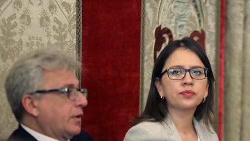 Yaneth Giraldo, la nueva portavoz de Ciudadanos