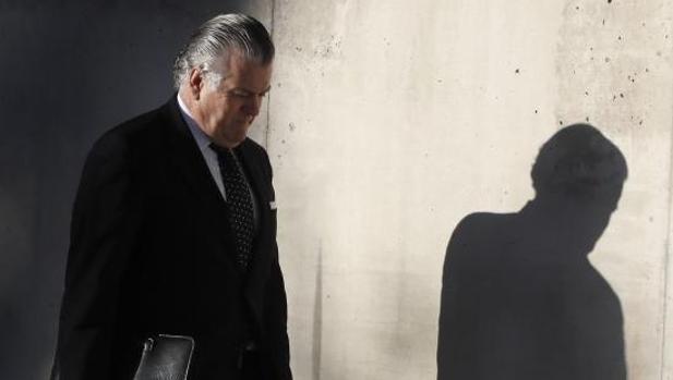 El extesorero del PP Luis Bárcenas, a su llegada esta semana a la Audiencia Nacional en San Fernando de Henares