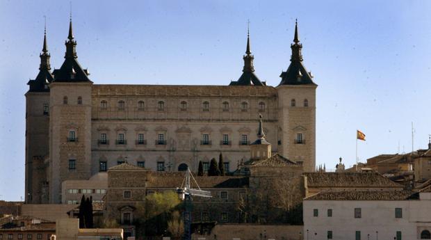 Alcázar de Toledo, sede de la Biblioteca Regional de Castilla-La Mancha