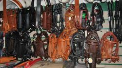 En el local se encuentran todo tipo de accesorios para la equitación