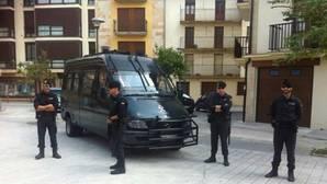 Convocan una concentración de apoyo a la Guardia Civil en Pamplona