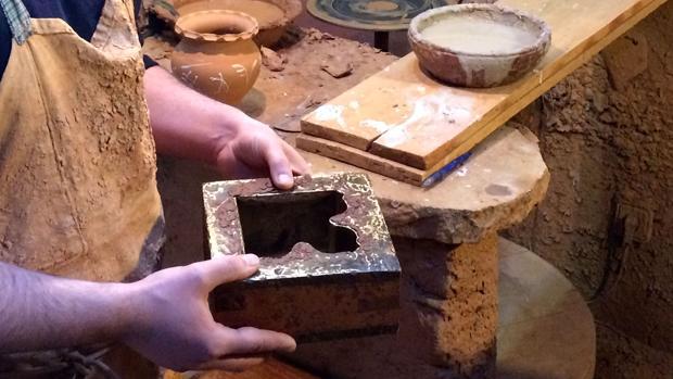 Molde original diseñado por Gaudí