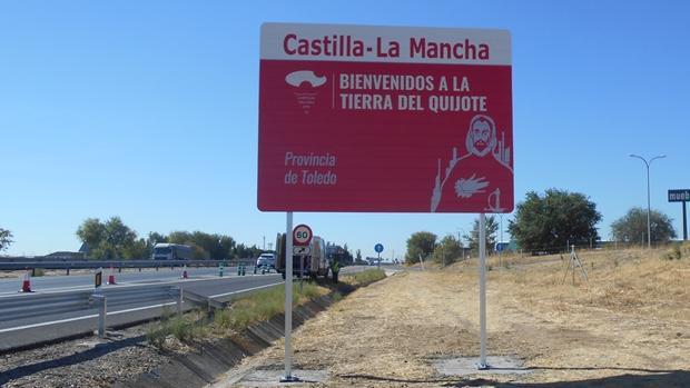 Señalizarán las principales vías de acceso con la imagen de Cervantes