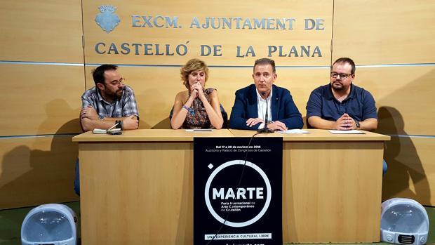 Imagen de la presentación de Marte, la feria internacional de arte contemporáneo que acoge Castellón