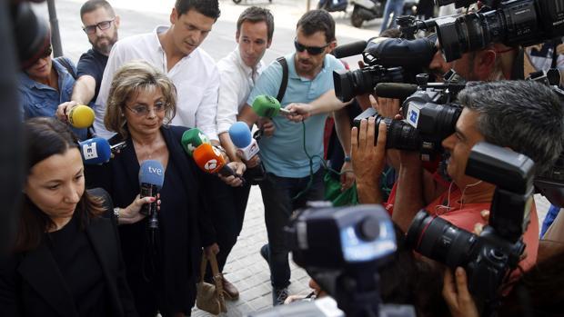 María José Alcón, en su última declaración ante el juez
