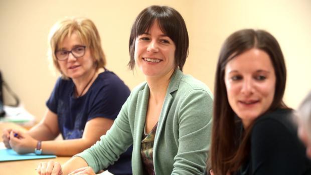 Tres mujeres liderarán el grupo parlamentario durante la próxima legislatura