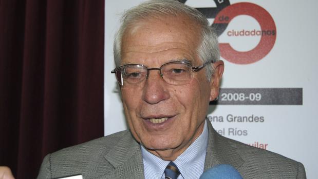 José Borrell en un acto esta semana