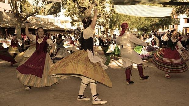 Imagen de una de las ediciones de la Feria de Cocentaina