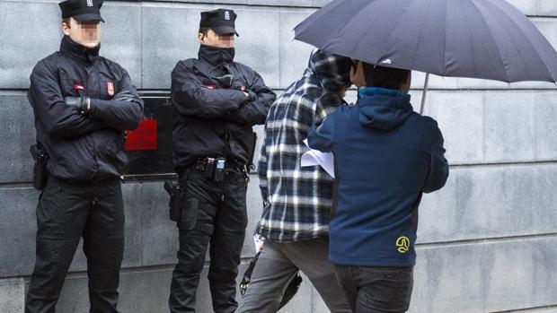 Uno de los dos jóvenes detenidos por la agresión del pasado sábado