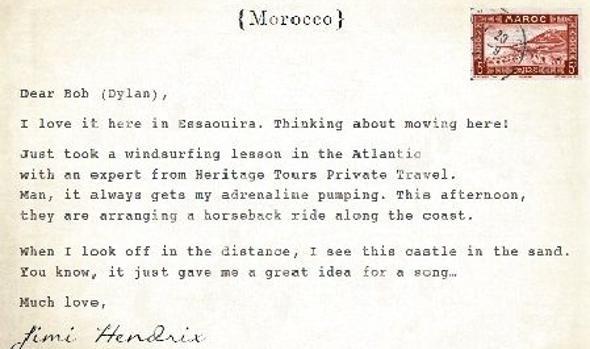 Bob Dylan, entre Canarias y Essaouira