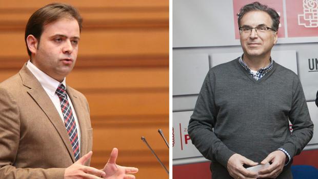 Los socialistas Celestino Rodríguez (León) y Antonio Plaza (Zamora)