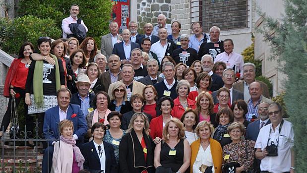 Los maestros, en el restaurante Monte Rey de Toledo