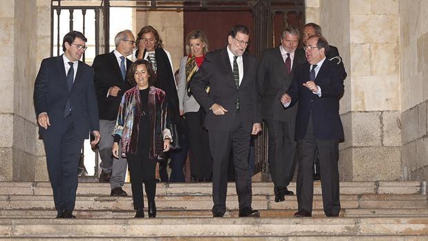 Rajoy preside la Comisión Interinstitucional para la Conmemoración del Centenario de la Usal