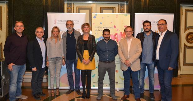 Imagen de la presentación del certamen