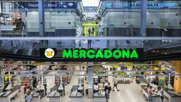 Imagen de archivo de un supermercado de Mercadona