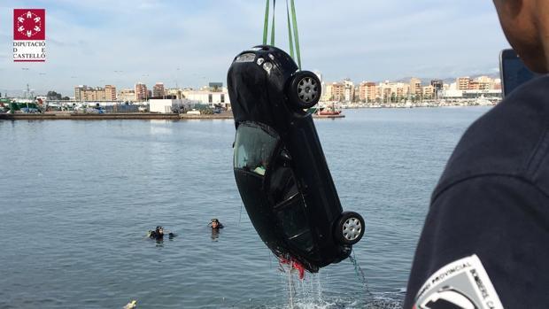 Imagen del operativo de los bomberos de Castellón