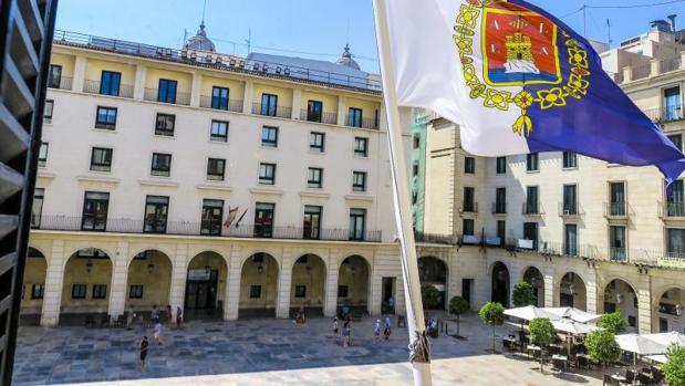Edificio de la Audiencia Provincia de Alicante