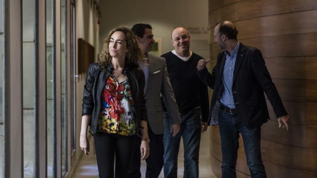 Carolina Punset, en las Cortes Valencianas en una imagen de archivo