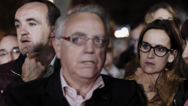 Miguel Sanz, María Chivité y Javier Esparza