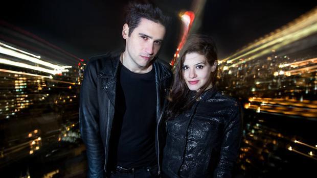 El dúo Los Coming Soon