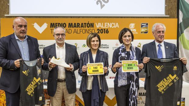 Presentación del XXVI Medio Maratón Valencia Trinidad Alfonso, esta mañana