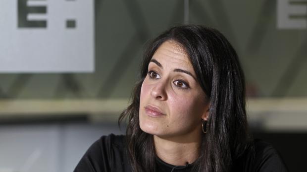 Rita Maestre, durante la entrevista