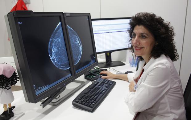 Cristina Romero, radióloga y jefa de la Unidad Mamaria de Toledo