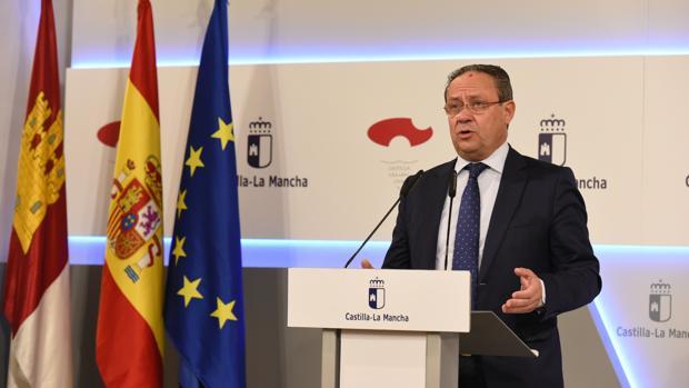 El consejero de Hacienda y Administraciones Públicas, Juan Alfonso Ruiz Molina