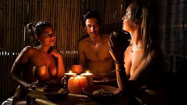 Formato del Buyandi, restaurante nudista de Canarias, el primero en España