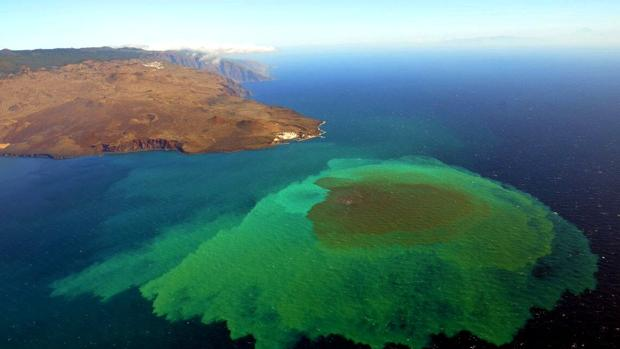 Volcán submarino de El Hierro