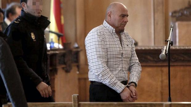 El autor confeso del crimen, durante el juicio