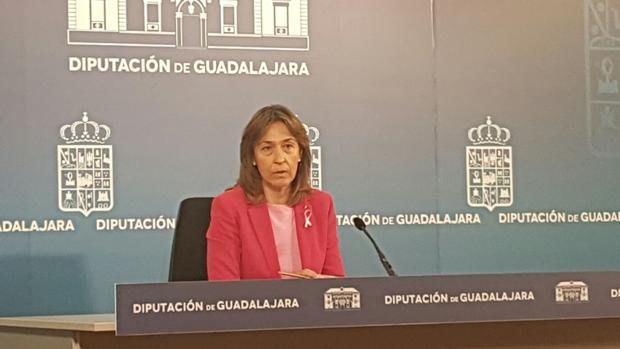 Ana Guarinos, vicepresidenta de la Diputación de Guadalajara