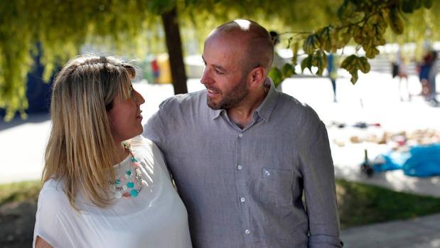 Carmen Santos y Luís Villares, en una imagen tomada el pasado verano