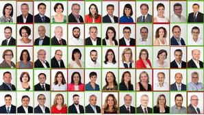 Apenas veinte diputados socialistas sopesan romper la disciplina de voto y decir «no» a Rajoy