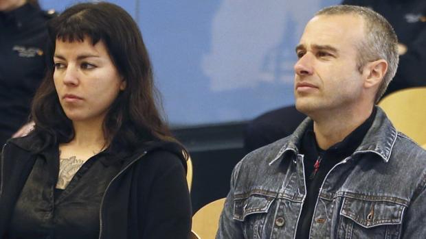 «Cariñoso» y «Moniquita», durante el juicio que tuvo lugar en la Audiencia Nacional