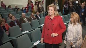 Fátima Báñez alaba las «acertadas políticas» llevadas a cabo por la Junta